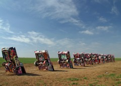 Cadillac Ranch Installation (1974). Photo: Dean Franklin