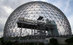 The Montreal Biosphère by Buckminster Fuller, 1967. Photo: Ryan Mallard.