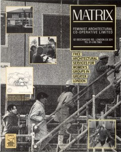 Matrix: a leaflet describing the work of Matrix, for client organisations—front cover. Courtesy: Julia Dwyer