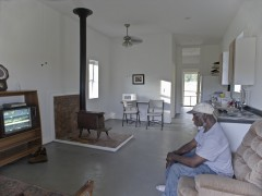 $20K House IV Interior, Newbern, AL (2009). Courtesy: Rural Studio
