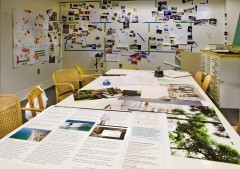 Early stage of the Actions exhibition and book project, 2008. Photo: CCA