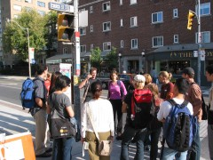 Walking Tour. Courtesy: Planning Action