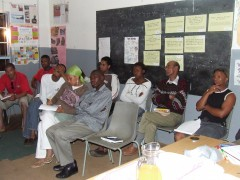 Housing Rights Workshop, 2006. Coutesy: Abahlali baseMjondolo.
