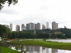 Curitiba From Barigui Park. Photo: Rodrigo