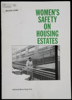 WDS publication, Women's Safety on Housing Estates. Photo: Peter Lathey.