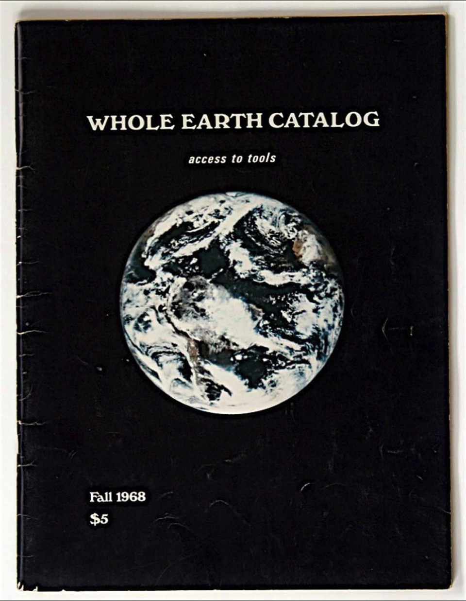 Brand's Whole Earth Catalog, introducing tools to shift human consciousness and culture