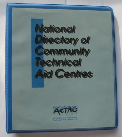 ACTAC directory of community technical aid centres. Photo: SA