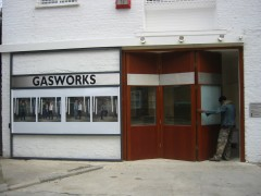 Layout, Gasworks Gallery, London (2002-2004). Photo: Public Works
