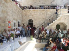 Beit Reema Cultural Centre hosts activities for young people, women and a farmer's association. Photo: Riwaq