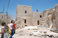 Renovation project at Birzeit, Palestine for Rozana Society. Photo: Riwaq