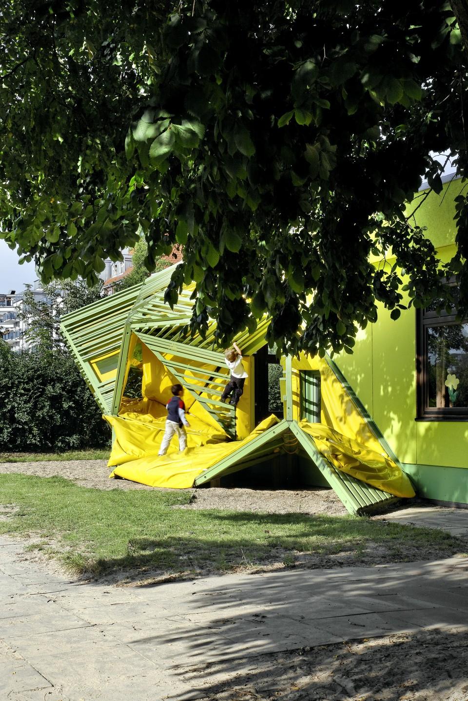 Kindergarten Taka-Tuka-Land, Berlin. Photo: Jan Bitter