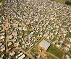 Khayelitsha informal settlement near Cape Town. Photo: Paul Bruins