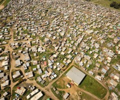 Khayelitsha informal settlement near Cape Town. Photo: Paul Bruins.