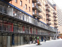 Commercial units ar Oxo Tower wharf. Courtesy: CSCB